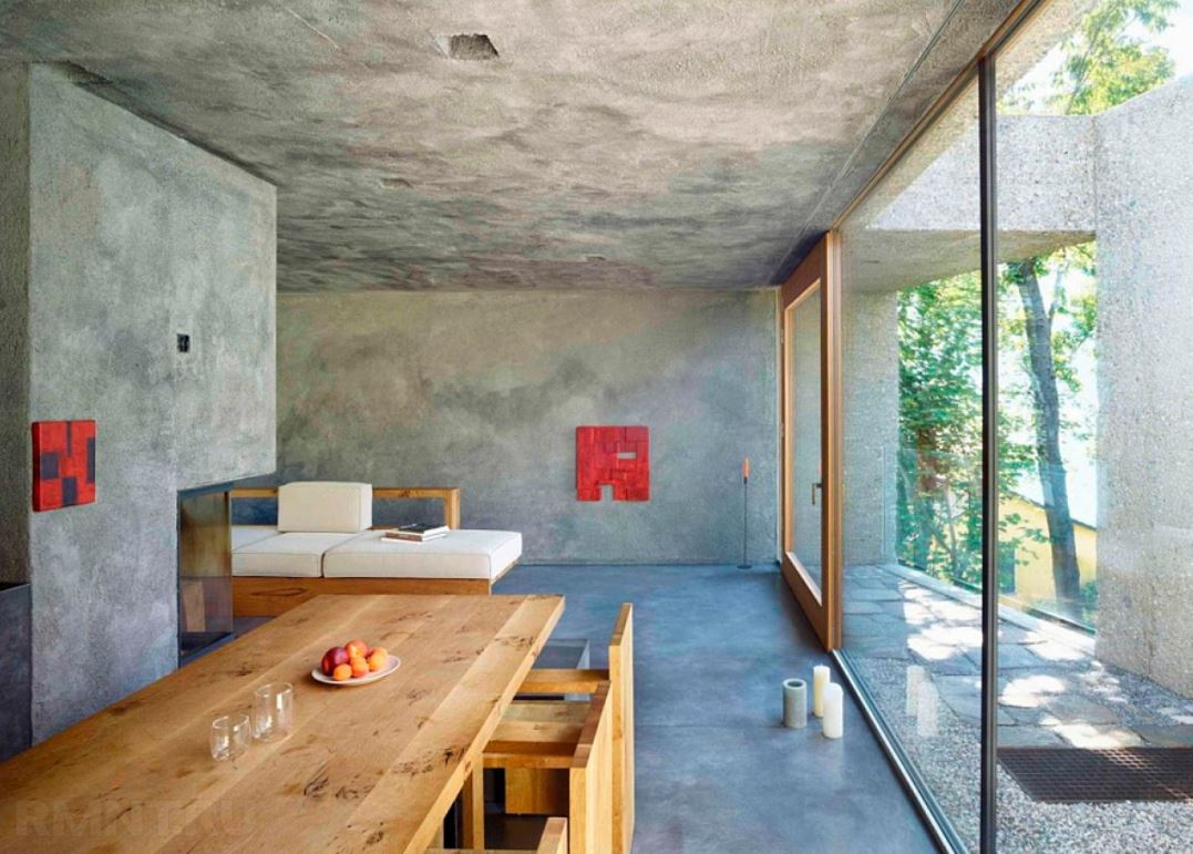 Concrete Paver Molds In Interior: Industrial Chic Attraction